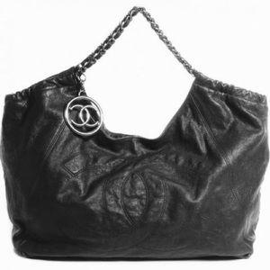 Chanel Caviar XL Coco Cabas Bag